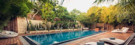 Pool Side © Hotel Pledge3 Negombo